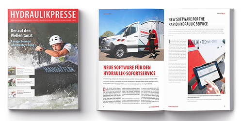 Your system supplier in the hydraulics - HANSA-FLEX AG
